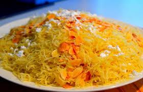 cuisine maghrebine seffa madfouna une des recettes sucrée de la cuisine maghrébine