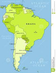 map of america with country names south america maps of ontheworldmapcom road with country map