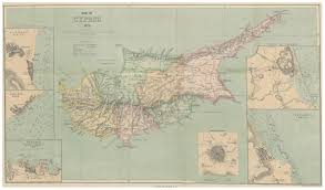 Map Of Cyprus File 1878 Map Of Cyprus Jpg Wikimedia Commons