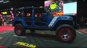 ace family jeep 2016 jeep wrangler unlimited richard petty u0027s garage sold 82 500