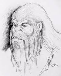 man claims this drawing is of a u0027real yeti he saw and sketched