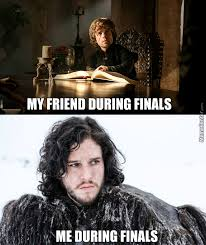 Brace Yourself Memes - brace yourself finals are coming by freefreez meme center