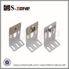 aluminum motorized curtain track with wireless control motorized
