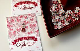 valentines necklace bubblegum necklace kids valentines cards