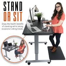 Sit Stand Office Desk by Electric Sit Stand Standing Desks Stand Steady
