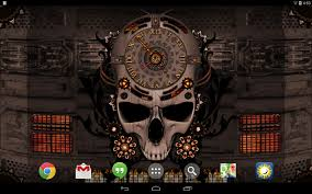 live halloween wallpapers for desktop steampunk clock live wallpaper android apps on google play