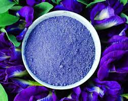natural blue food coloring for icing frosting cake cookie