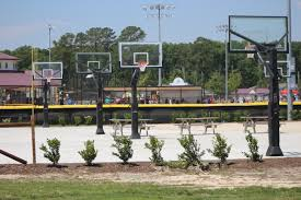 How Much Does A Backyard Basketball Court Cost Our Facility Sports At The Beach