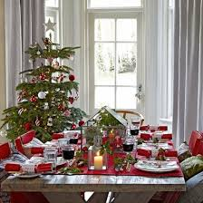 Christmas Dining Room Decorations 47 Best Christmas Dining Images On Pinterest Christmas Table