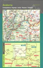 Andorra Map Andorra Pyrenees 1 40 000 Topographic Hiking Map Alpina Amazon