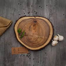 unique serving platters unique wooden log platter wood slices serving platter