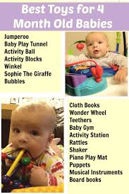 best toys for 4 month baby babies and baby play