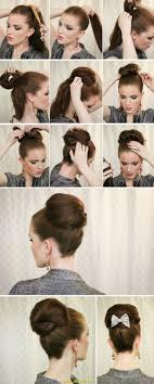 Hochsteckfrisurenen Selber Machen Glatte Haare by ös Hochsteckfrisur Lange Haare Selber Machen Deltaclic