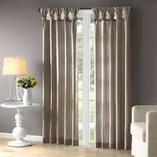 gray and silver curtains u0026 drapes you u0027ll love wayfair