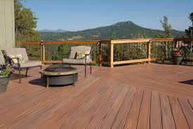 log cabin deck railing ideas choosing a railing to complement
