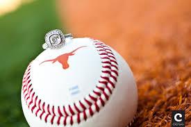 Baseball Wedding Ring by A Baseball Themed Engagement Photo Shoot In Austin Tx Meredith