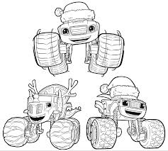 monster trucks for kids blaze blaze and the monster machines coloring pages getcoloringpages com