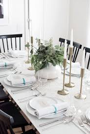 simple thanksgiving table neutral fall table homey oh my