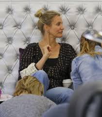 cameron diaz and nicole richie at a nail salon in beverly hills 05