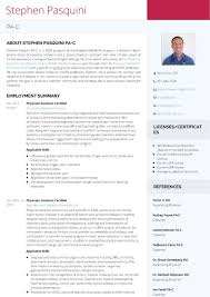 how to write shadowing experience on resume use visualcv to create a stunning physician assistant resume the here is another version of my same resume on visualcv created with a click of a button