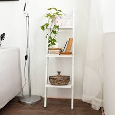 white ladder shelves design vintage white ladder shelf wooden