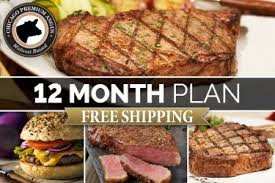 beef of the month steak of the month club monthly delivery chicago steak company