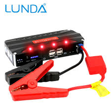 battery powered emergency lights for vehicles lunda portable car battery mini jump starter emergency charger