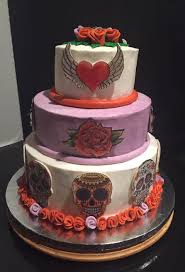 day of the dead wedding cake wedding specialty cakes annabelle s cookies and more