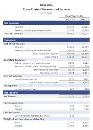 Financial Statements Templates For Excel 9 Income Statement Templates Word Excel Pdf Formats