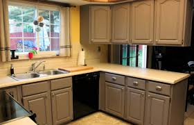 cabinet repainting kitchen cabinets refreshing best paint