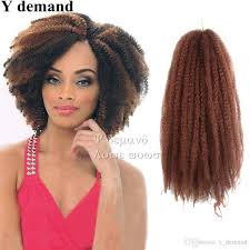 colors of marley hair 2018 afro kinky twist hair crochet braids ombre marley braid hair