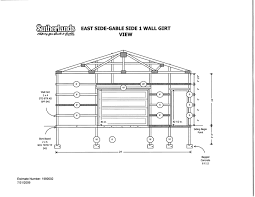 a frame building plans computer aided post frame building design