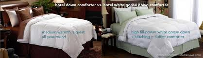 Good Down Comforters The Best Premium Hotel Down Comforters At Home Best Goose Down
