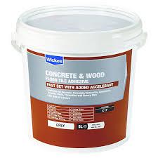 wickes concrete wood floor tile adhesive 5l wickes co uk