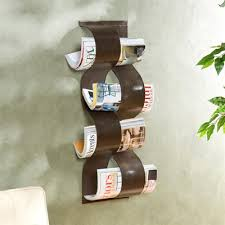 home decor sales magazines boston loft furnishings alyson wall mount magazine center rack