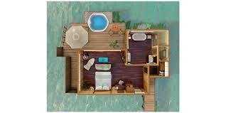 water view house plans rangali island hotels conrad maldives rangali island rangali