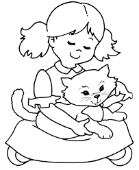 kitty cats coloring free download