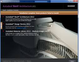 falla instalacion revit architecture 2012 autodesk community