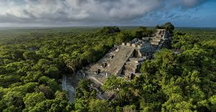 Mayan Ruins Mexico Map by Calakmul Campeche Mexico Mayan Ruins Archaeological Zone