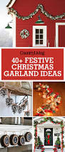 How To Make Halloween Garland 55 Best Christmas Garland Ideas Decorating With Holiday Garlands