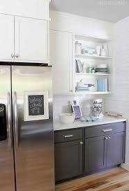 the two tone kitchen cabinets and its exclusive style