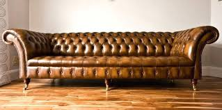 Chesterfield Sofa Used Chesterfield Leather Chesterfield 3 Seater Antique Blue