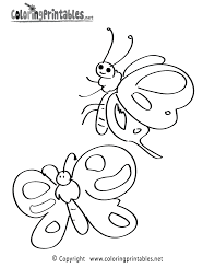 butterflies coloring page a free nature coloring printable