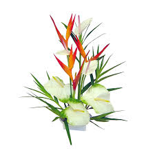 Tropical Flowers And Plants - exotic silk tropical flower arrangements u2013 home design and decor
