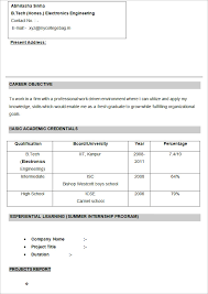 Electronics Engineer Resume Sample by Cv Templates U2013 61 Free Samples Examples Format Download Free