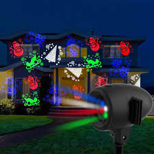 Laser Christmas Lights Projectors by Startastic Motion Holiday Laser Light Projector Domestify