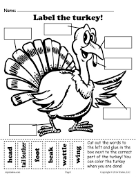 all worksheets cut and paste thanksgiving worksheets free