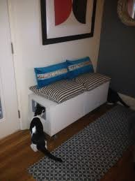 Ikea Hack Window Seat Ikea Hack Besta Storage Cabinet Hidden Cat Litter Boxes Ikea