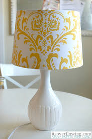 Diy Lamp Shade How To Upcycle An Old Lampshade A Bowl Full Of Lemons