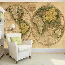 online get cheap custom wallpaper printing aliexpress com custom wallpaper printing home wall decor picture retro world map wallpapers for living room 3d retro photo wallpaper murals 3d